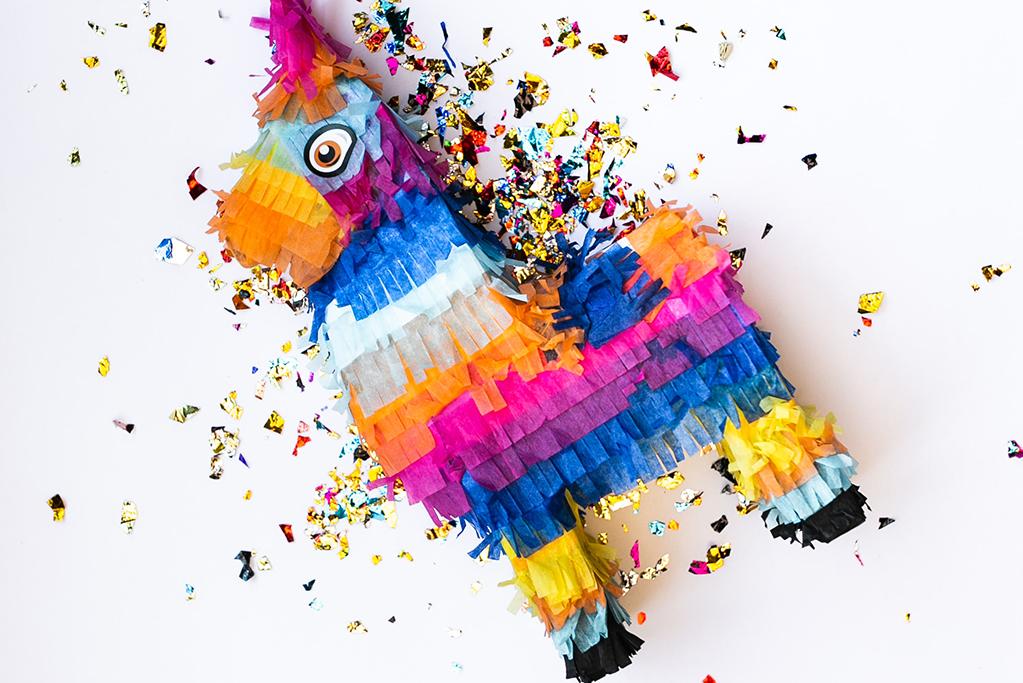 ホームパーティー アメリカ カントリーパーティー メキシカンナイト ピニャータ