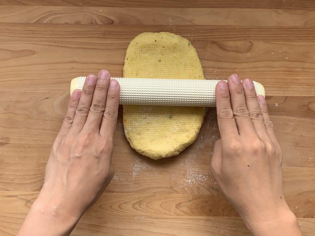 ハロウィンパーティー まきまきシュガーパン レシピ 01