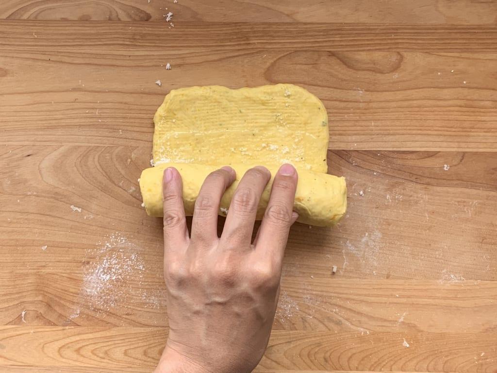 ハロウィンパーティー まきまきシュガーパン レシピ 03