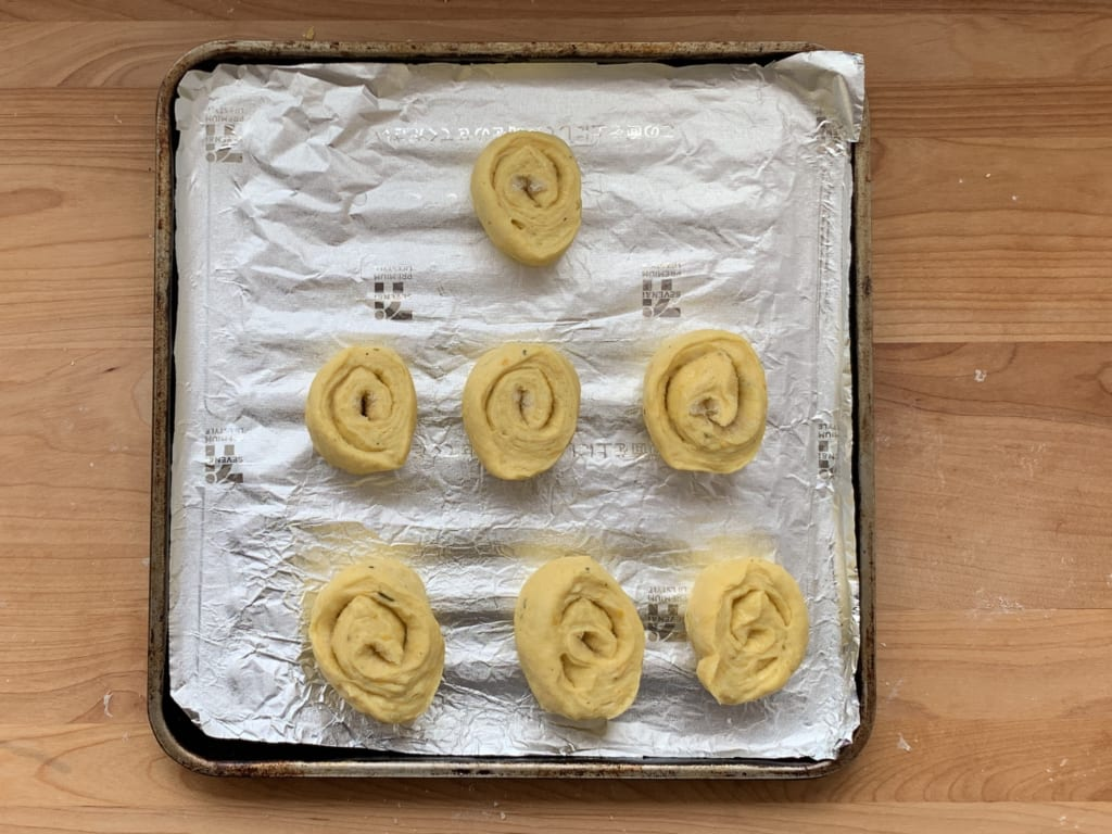 ハロウィンパーティー まきまきシュガーパン レシピ 05