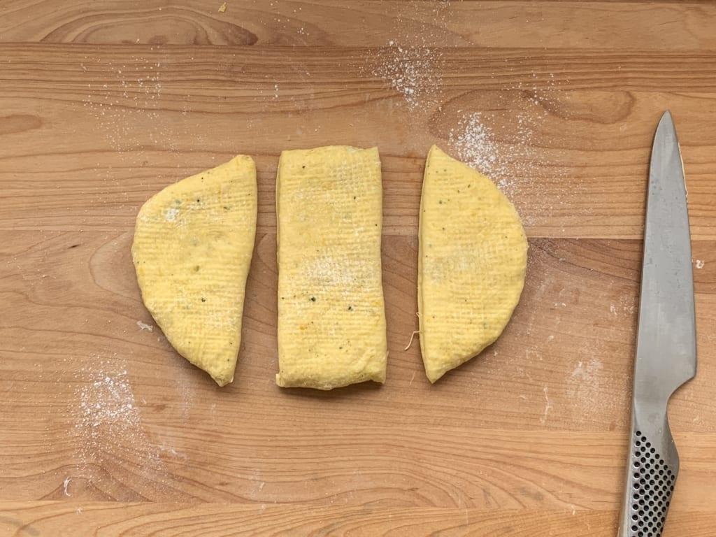 ハロウィンパーティー キャラパン(かぼちゃ、ガイコツ、おばけ) レシピ 01