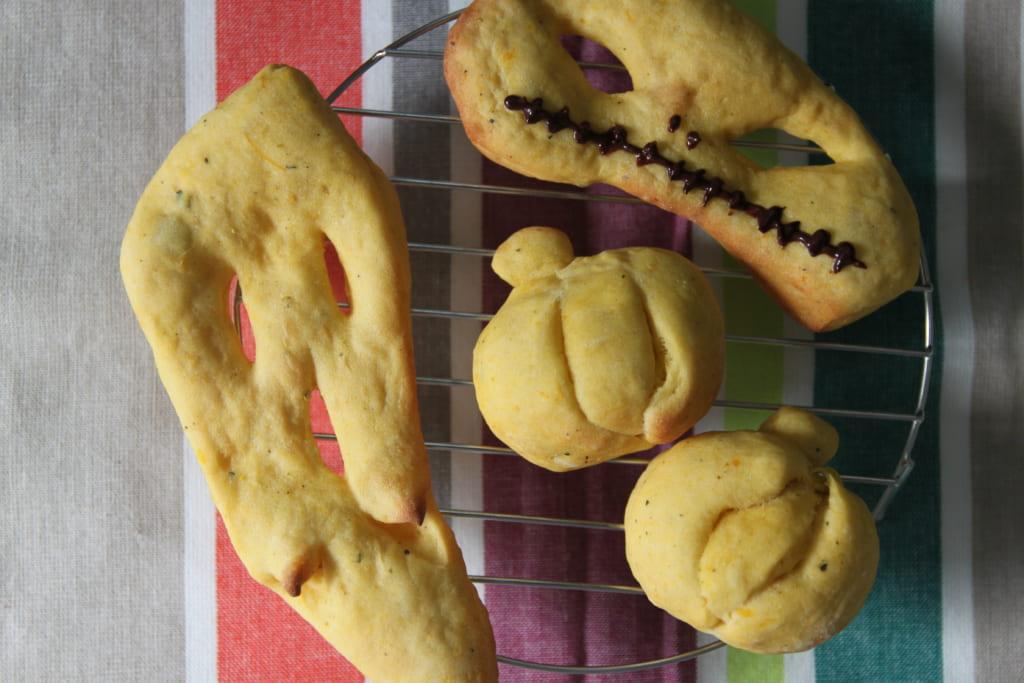 ハロウィンパーティー パン レシピ